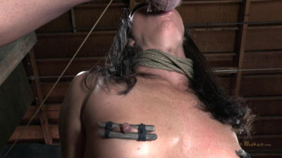Sexually Broken - Wenona get roughly deep throated, her HUGE nipples bound - Mar 25, 2013