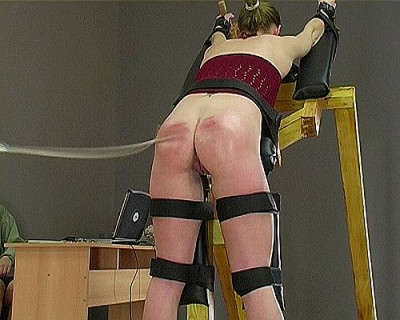 (BDSM) (Pain4Fem  – The Spanking Machine)