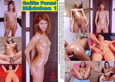 Oiled girl Purzel 1