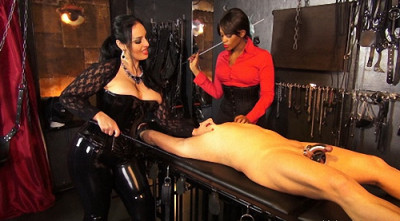 Ezadas Stretched Nipple and Cbt Slave