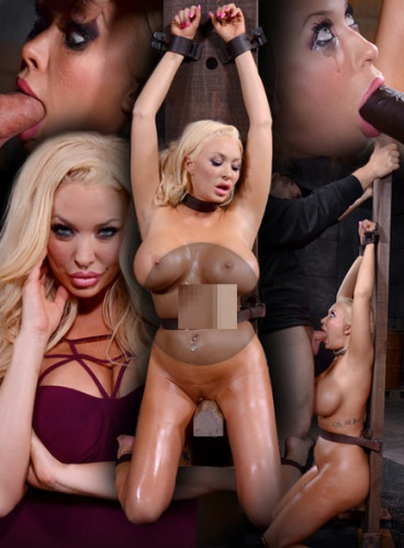 Summer Brielle Shackled And Throatboarded By Bbc, Messy Deepthroat!