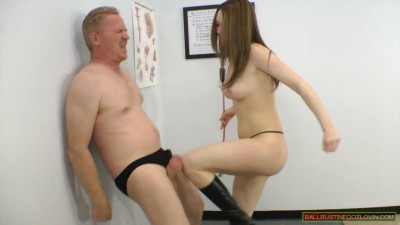Ballbusting Auditions Megan Loxx (2013)
