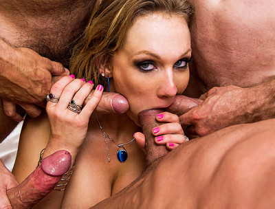 Her First Hot Old Fashioned Gang Bang