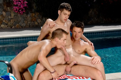 Max Morgan, Nick Reeves and Trystan Bull