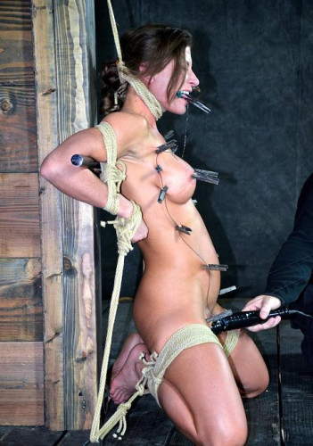 Beautiful and strong body in BDSM