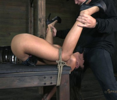 SB - Sexy Latina is overloaded with cock, orgasms, and bondage - HD