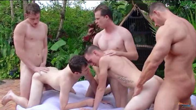 DallasReeves Dallas Reeves Convinced Zeb On His First Orgy