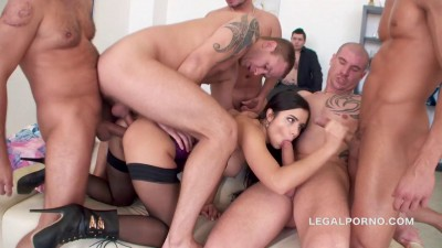Rough Gangbang With DAP For Mira Cuckold