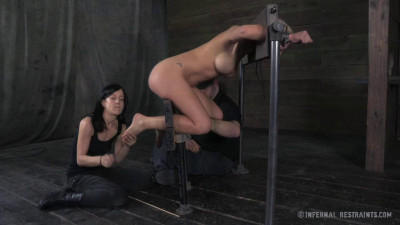 InfernalRestraints Cherie DeVille and Elise Graves