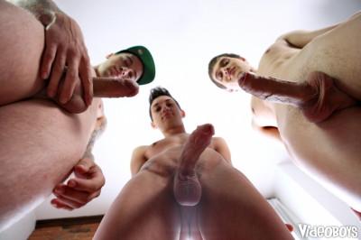 VideoB — VideoBoys Cumshot Contest — Luda Wayne, Simon Archer, Seth Corrigan