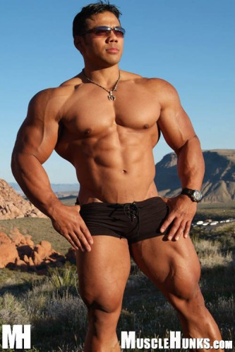MuscleHunks - Ray Arde (Stinger): Rock Solid (2005)