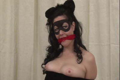 Bound and Gagged – Supervillainess Savage Kitty Mary Jane Green