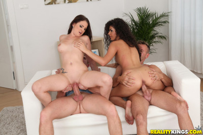 Chad Rockwell, Choky Ice, Dyanna, Jj, Laurita — Bang Me And Her FullHD 1080p