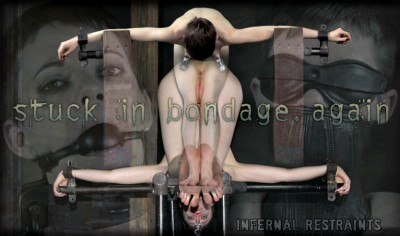 IR Stuck in Bondage, Again - Hazel Hypnotic, Cyd Black - May 2, 2014