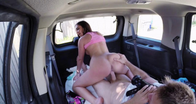 Hot Brunette Gets Banged