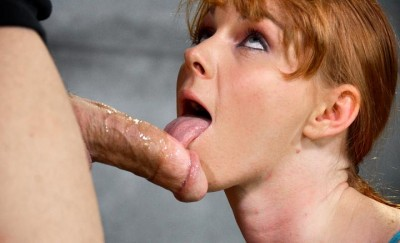 Redheaded Cutie Marie McCray Bound, Sucks And Fucks , HD 720p