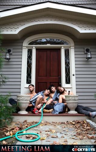 CockyBoys — Meeting Liam (Liam Riley, Levi Karter, Ricky Roman, Tayte Hanson)