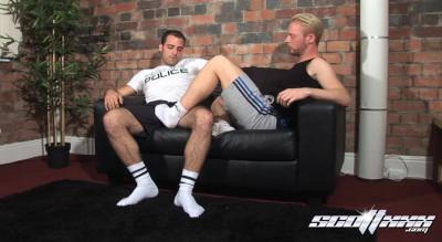 Description ScottXXX - Andro Maas & Fraser Jacs - White Socked Scallies