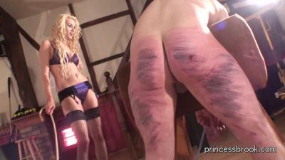 Princess Brook - Caning spanking