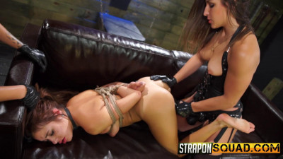 Straponsquad - Aug 07, 2015 - Marina Angel Loves Lesbian Double Penetration