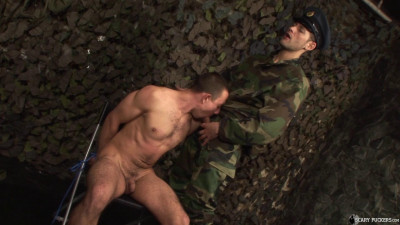 Anal interrogation the prisoner