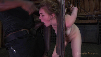 SexuallyBroken Fresh Faced 18yr Old Southern Girl Mattie Borders Drilled Deep By 10 Inch Bbc