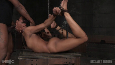 Kira Noir Cranked Up In Strict Chains And Roughly Fucked