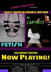Adult Drive-In Double Feature In Captivity