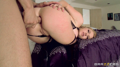 Blonde Girl Wont Leave Until He Pounds Her Asshole