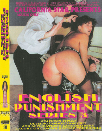 English Punishment Series 3 DVD