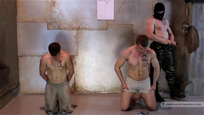 Slaves Competition II - Part I (cute twink, hard core, take turns, gay cartoons, gay twinks)