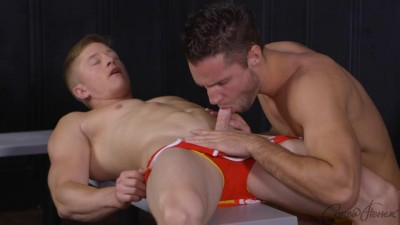 big dick kiss knows how - (Harper Taps Truman's Ass)