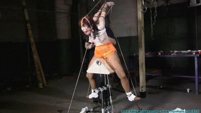 Chairtied - Hooters Girl Rides the  - Part 3