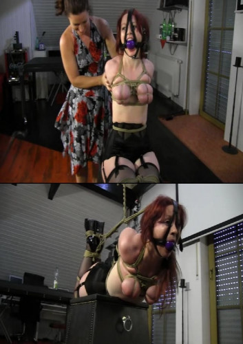 Extreme torture, bondage and suspension for horny bitch