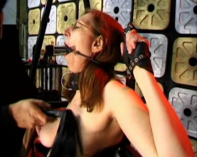 Four eyed slut punished