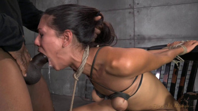 Brutally Bound In Strict Strappado