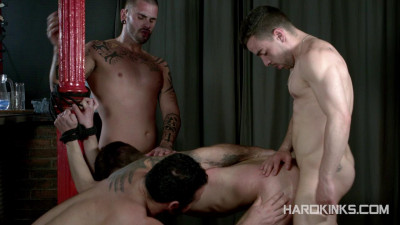 Hole For Three — Aday Traun, Dmitry Osten, Jessy Ares, Josh Milk