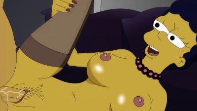 Toon Sex-Homer Simpson Fucks MargeFull HD