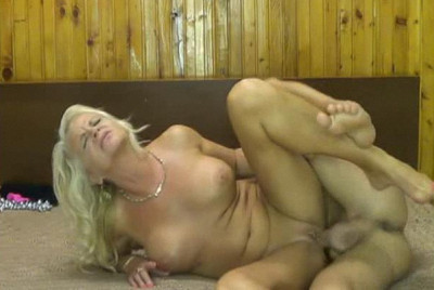 Amateur Mature Blonde Busty Lady
