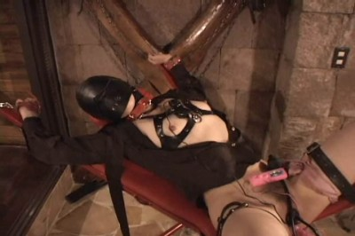 Japanese slave in hard BDSM