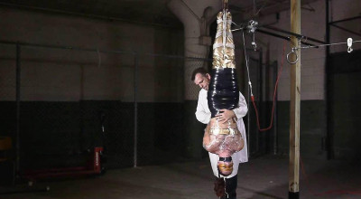 Fayth As the Golden Guardian Trapped Captured Stripped Hung Mummified Demasked - Part2