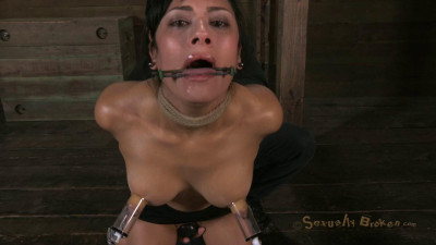 Sexually Broken – Hot Cougar With A Deep Throat, HUGE Nipples And Shaved Pussy – Feb 13, 2013