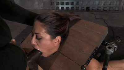Lyla Storm Strictly Restrained In Stocks…(Oct 2014)
