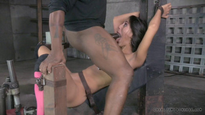 Hot Hispanic Lyla Storm Bound To Fucking Machine
