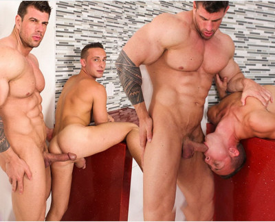 Billie Ramos and Zeb Atlas  (Aug 7, 2014)
