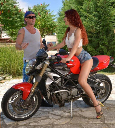 Shona River - A Bikers Ride: Horny Redhead Needs Her Pussy Stuffed! FullHD 1080p