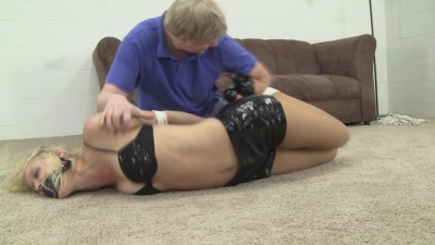 Mia Vallis Tickle In Shiny Shorts (2015)