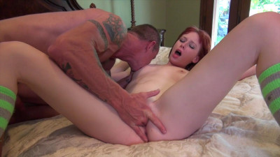 Redhead cutie fucked to exhaustion