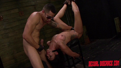 Isa Mendez Earns Facial After Bondage Slave Training Session Rough Sex (2015)
