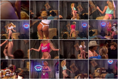 Girls Shake Asses In A Thong Contest